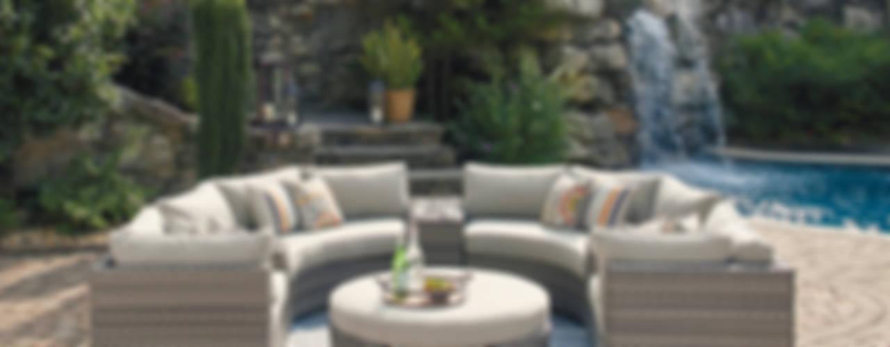 Colección de salas para jardín: Salas de estilo  por Casa de las Lomas, Moderno