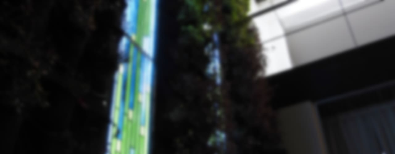 Vitrales: Terrazas de estilo  por MKVidrio,
