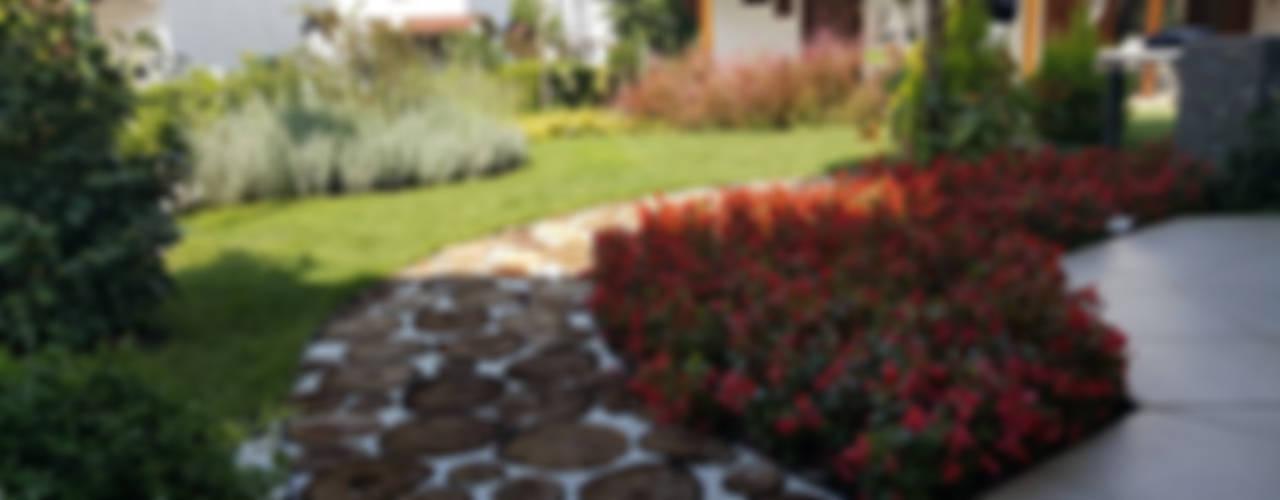 B.Ö ÖZEL KONUT Peyzaj Projelendirme & Uygulama Rustik Bahçe konseptDE Peyzaj Fidancılık Tic. Ltd. Şti. Rustik