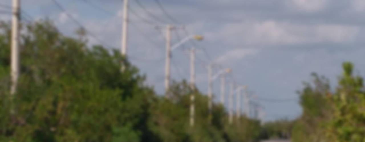 Tendido de Red Electrica en Media Tension (Cable semiaislado SA-AAC) de Instalaciones Eléctricas CMT