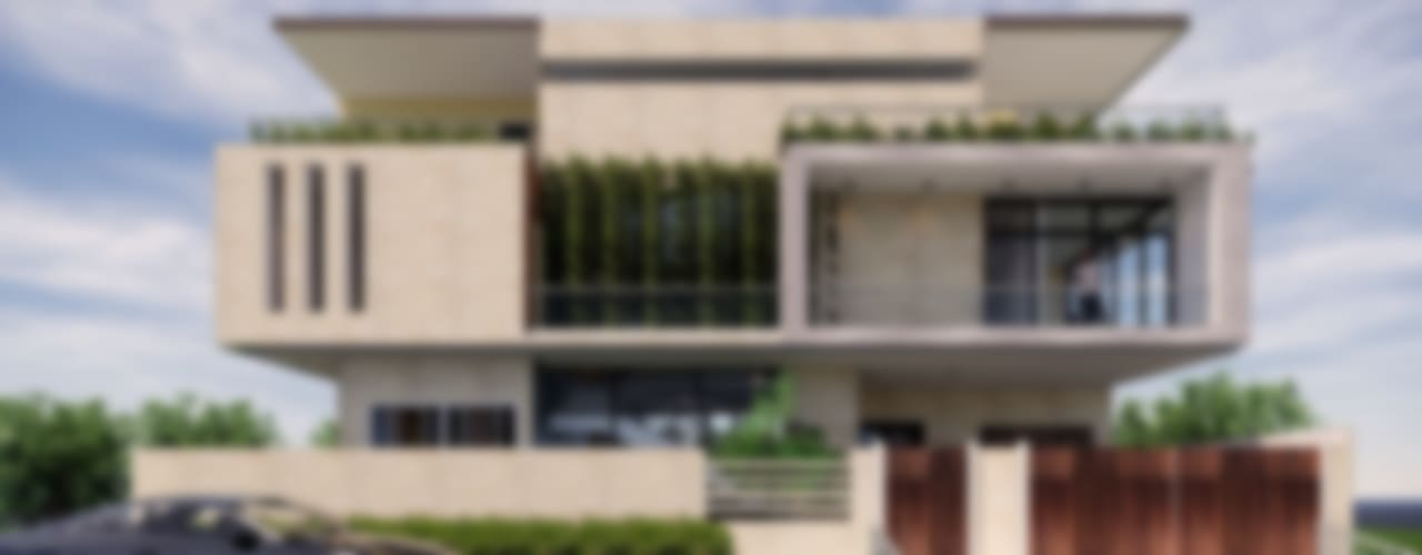 MAP Architects Villas Limestone Beige