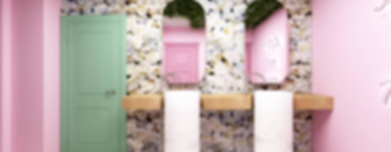 Selfi Lavabosu Modern Banyo LUNES YAPI İÇ MİMARLIK Modern
