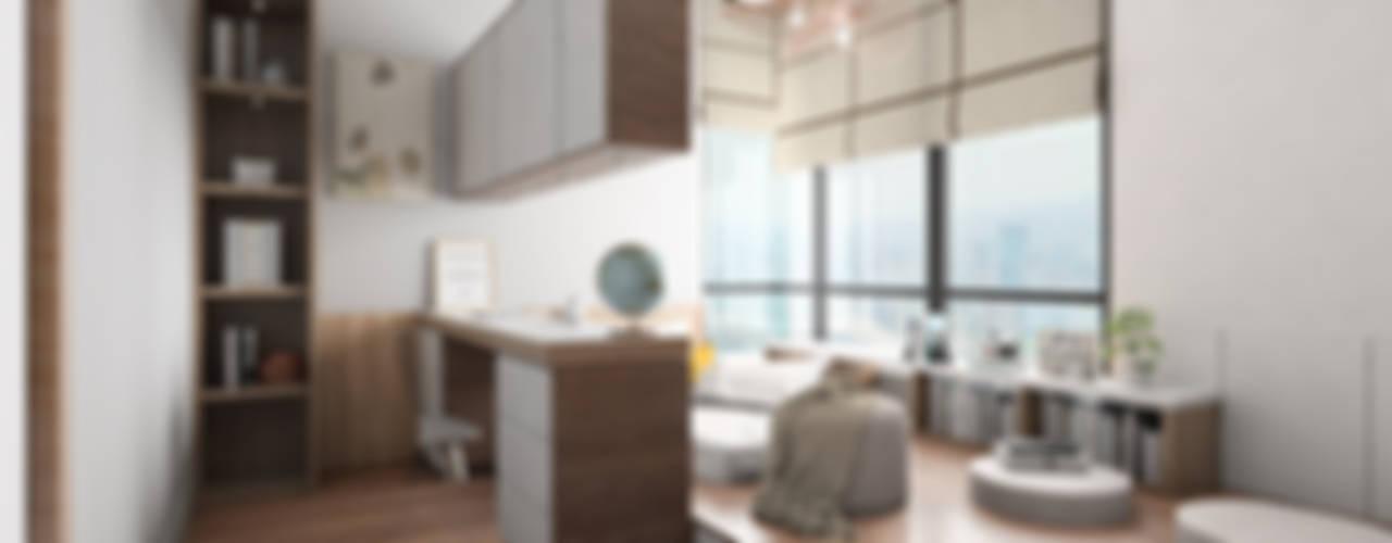 Zen Serenity W33 Design Studio Asian style bedroom Wood effect