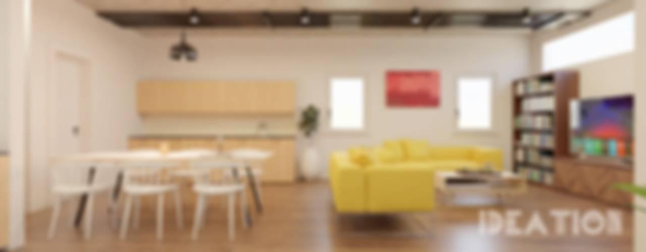 Co-Living Apartment Hostel: modern  by Ideation Design,Modern