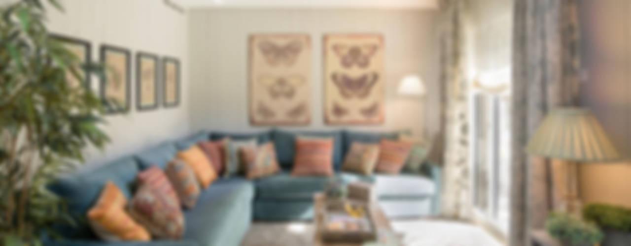 ARTURO SORIA SANTAYANA HOME Salones de estilo ecléctico