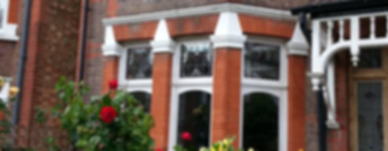 Casement windows portfolio Repair A Sash Ltd Wooden windows Engineered Wood White