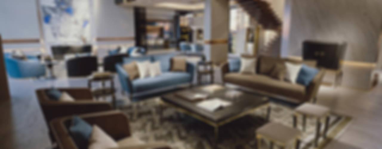 Jewel - Brummel BRUMMEL Modern living room Marble Black