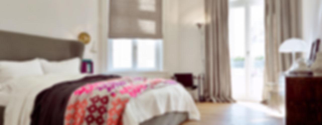 Projekt Altbauwohnung Harvestehude decorazioni Moderne Schlafzimmer