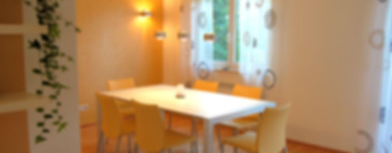 Umbau Wohnung Darmstadt - Bickenbach Einrichtungsideen Moderne Esszimmer