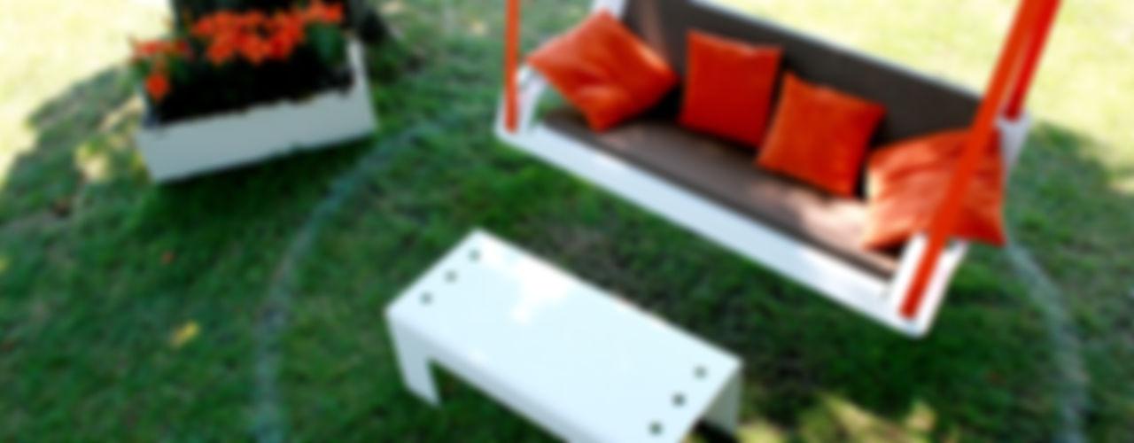 Pool22.Design Garden Furniture Metal White