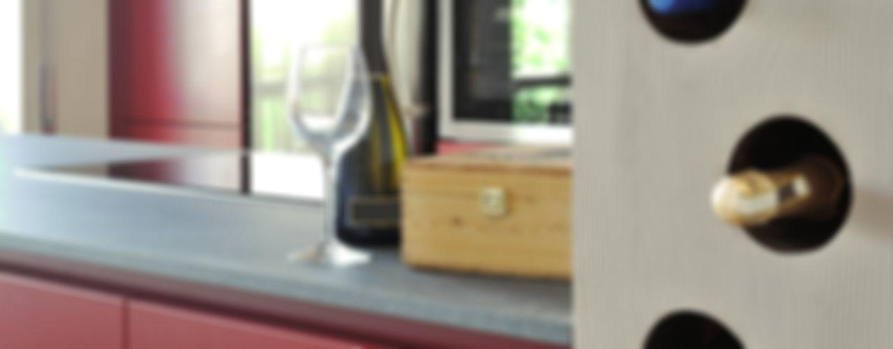 Casa Appia Antica CAFElab studio Sala da pranzoScaffali per il vino