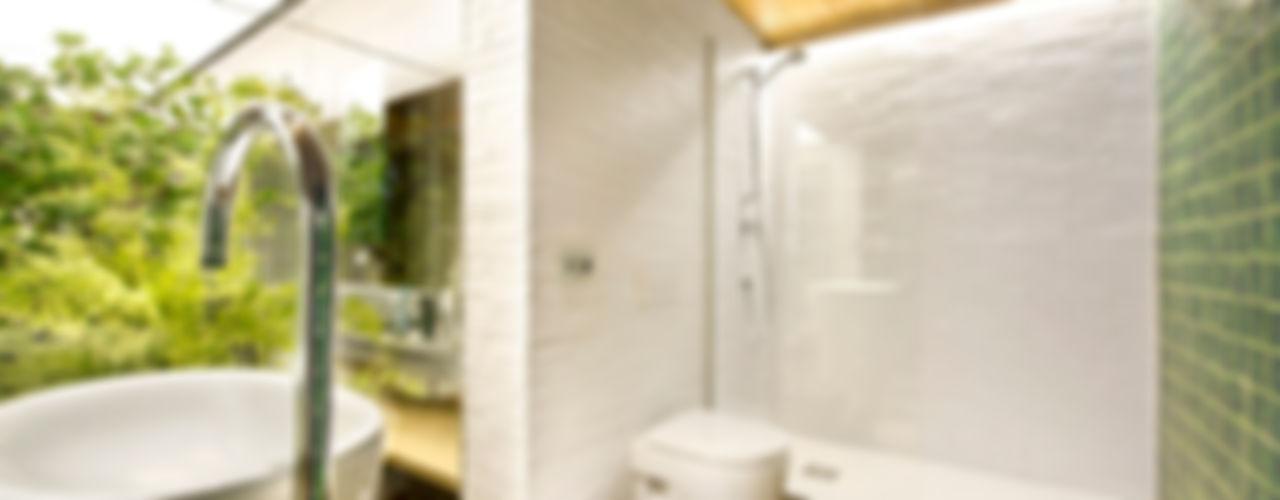 Bajo comercial convertido en loft (Terrassa) Egue y Seta Baños de estilo rústico