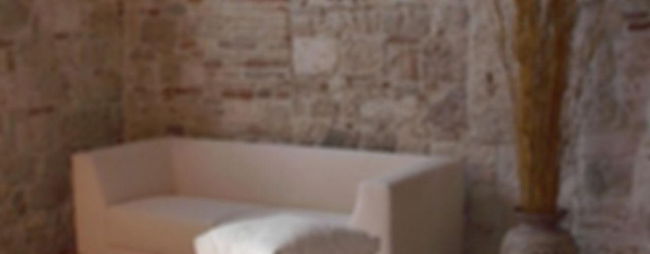 Hanging House Fabio Barilari Architetti Soggiorno in stile rustico