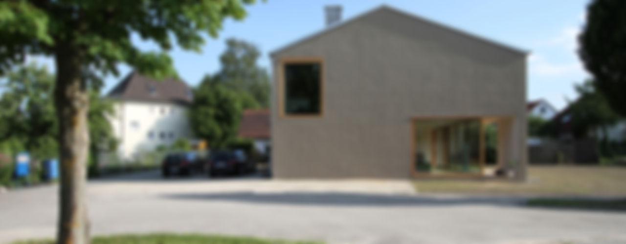 haus S, ingolstadt architekturbüro axel baudendistel Moderne Häuser