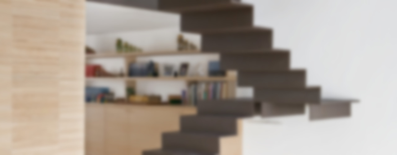 4 amici | 4 lofts roberto murgia architetto Ingresso, Corridoio & Scale in stile industriale