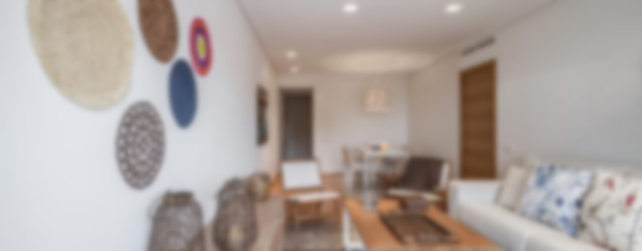 Laura Yerpes Estudio de Interiorismo Ruang Keluarga Gaya Mediteran