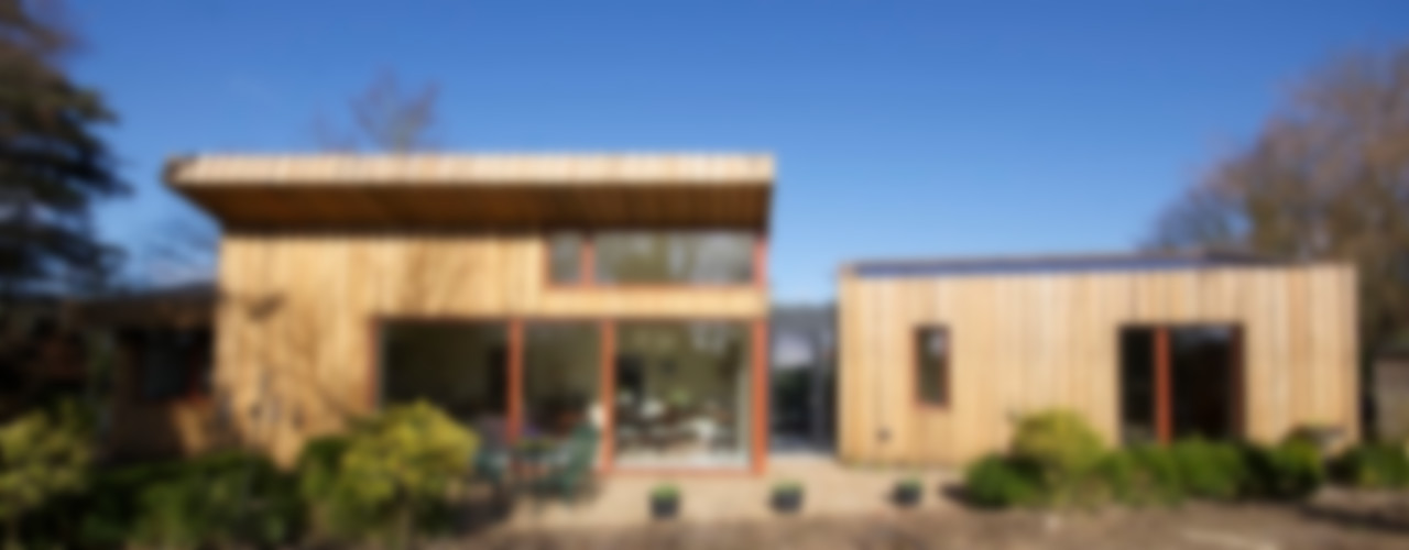 Pond House_Passive House (Passivhaus) Forrester Architects Modern houses