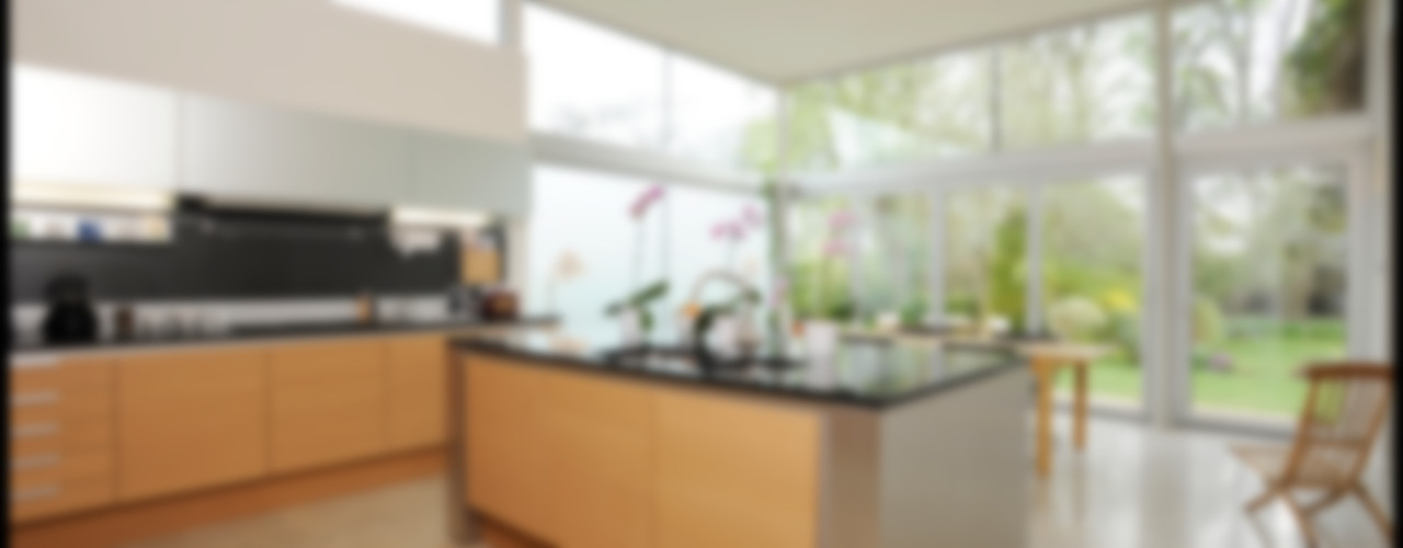 Dick Place ZONE Architects Modern kitchen