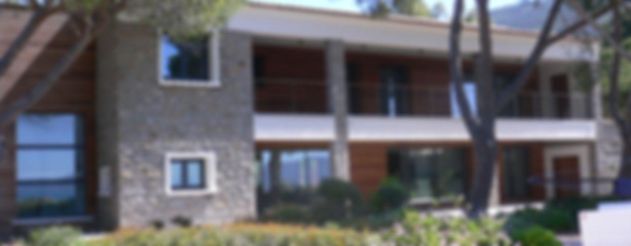 Villa pied dans l'eau Véronique Desmit Maisons modernes