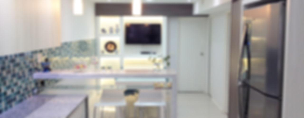 Estudio Nicolas Pierry Nhà bếp phong cách hiện đại