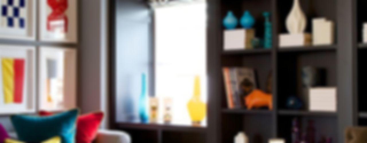 Global Eclectic Style SB design Studio Living Room
