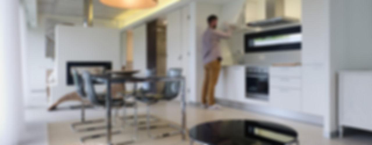Nan Arquitectos Minimalist dining room