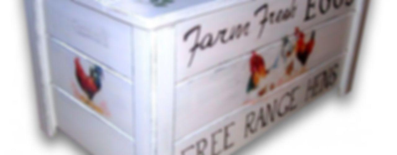 Provensalische Kisten Subtelności WohnzimmerBeleuchtung