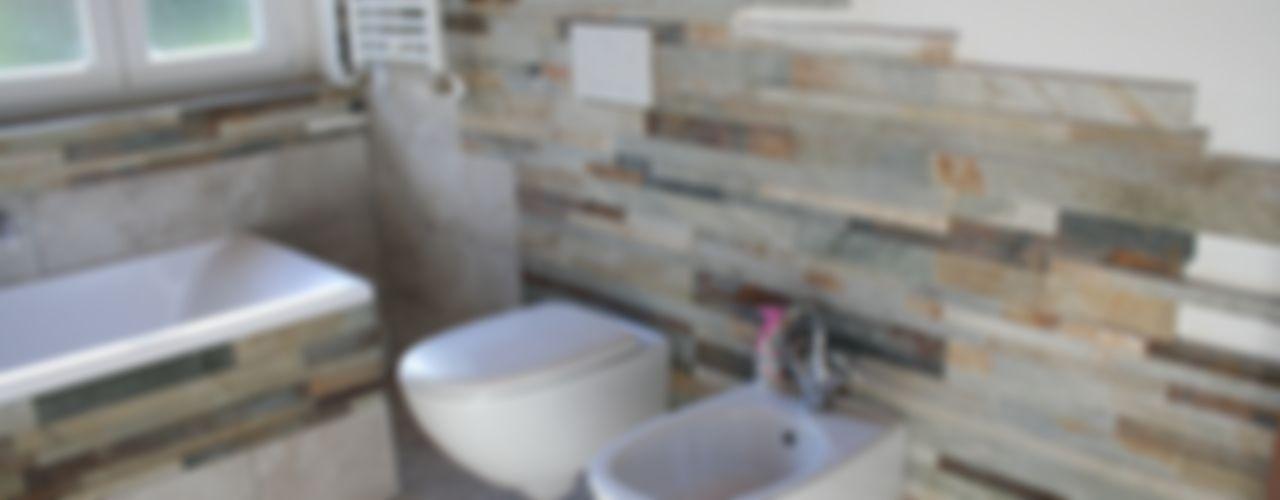 Bagno Rustico Shock-Id Bagno in stile rustico
