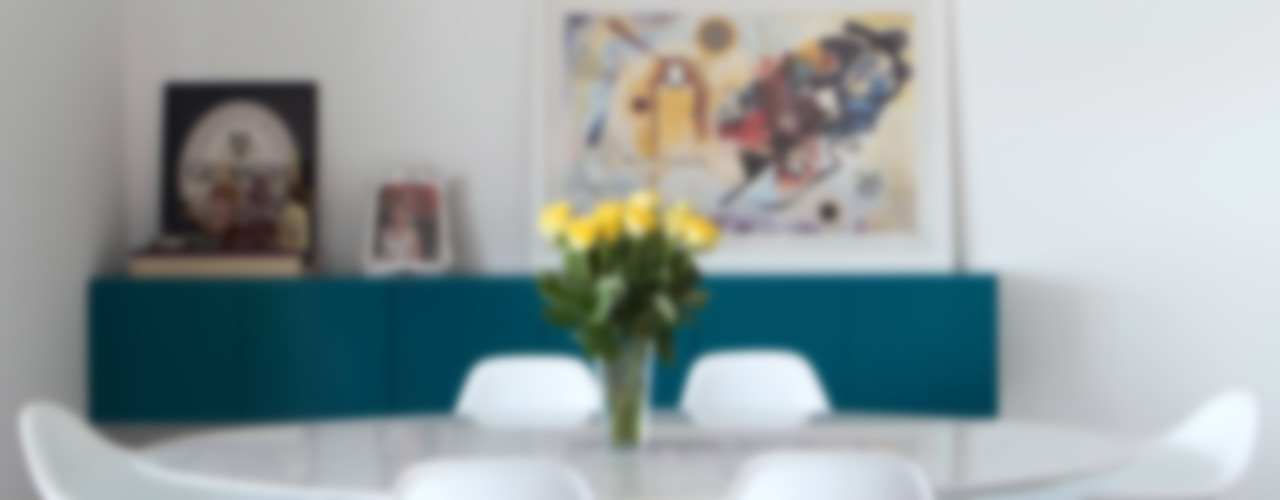 APARTAMENTO MOFARREJ Decorare Studio de Arquitetura Salas de jantar modernas