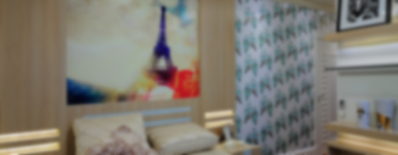 Adriana Scartaris: Design e Interiores em São Paulo Modern style bedroom