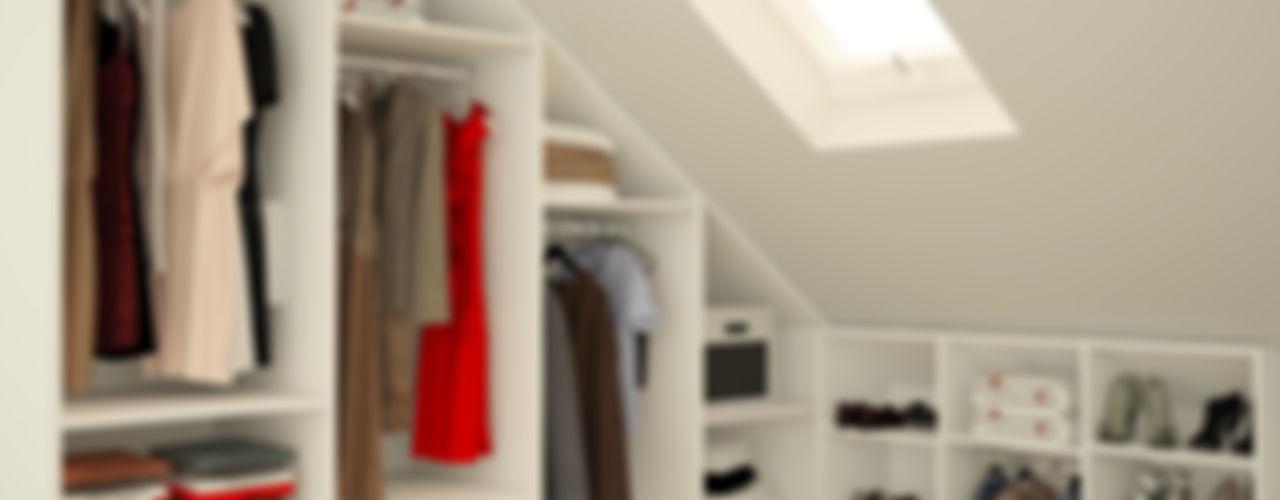meine möbelmanufaktur GmbH Closets de estilo moderno