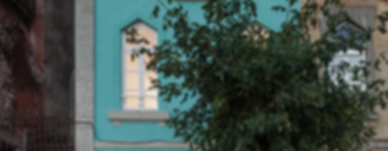 The Three Cusps Chalet Tiago do Vale Arquitectos Casas de estilo ecléctico