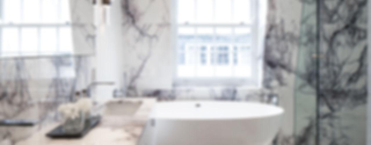 Eaton Mews North: Belgravia Roselind Wilson Design Baños de estilo moderno