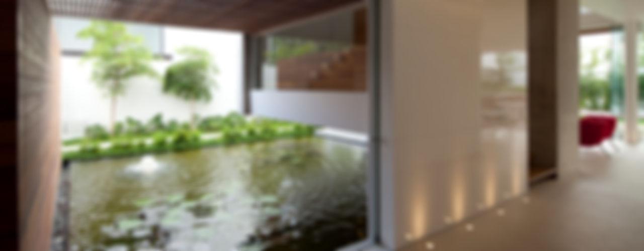 Hernandez Silva Arquitectos Jardin moderne