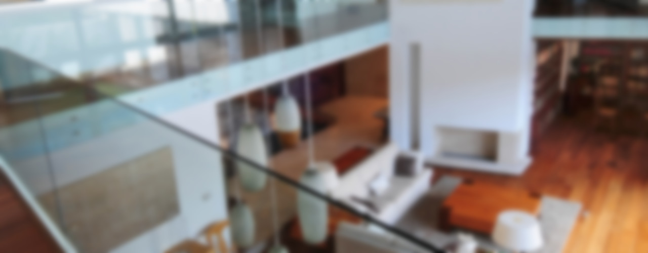 ze|arquitectura Salones de estilo moderno
