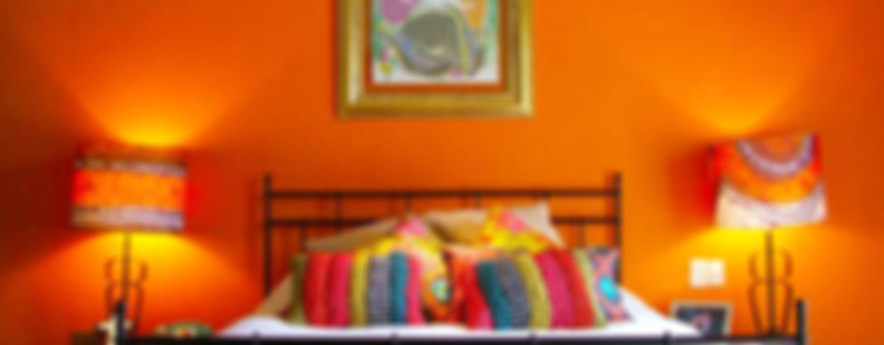 Erika Winters® Design Eclectic style bedroom