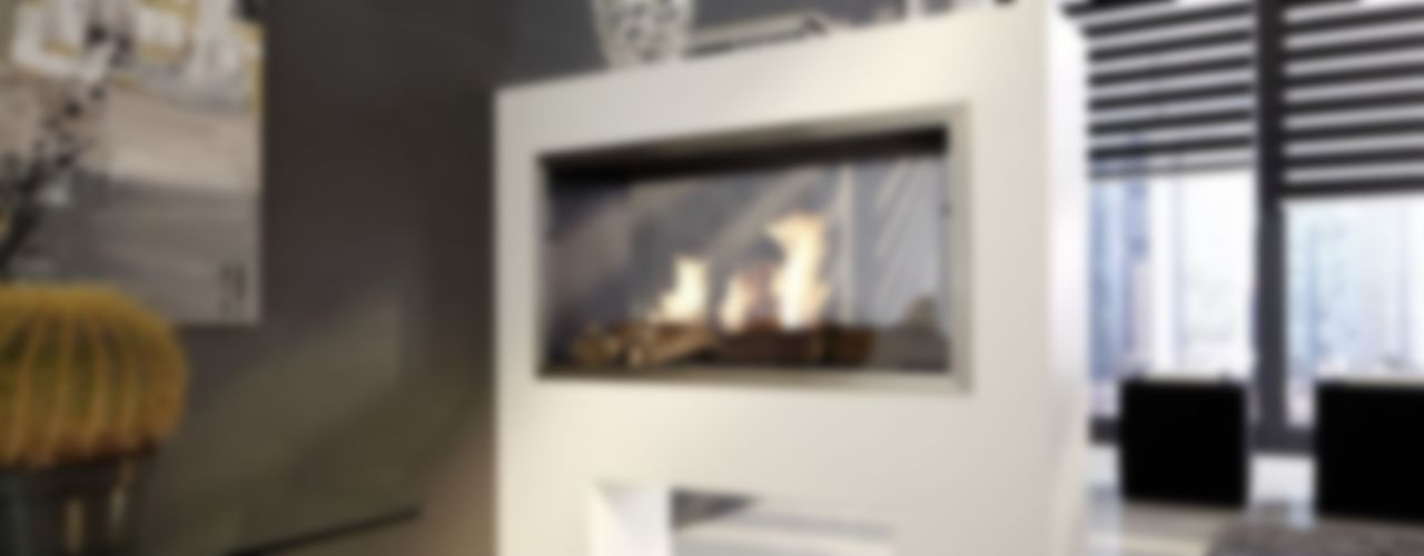 Raumteiler Kamine ASPECT - Serie Kamin-Design GmbH & Co KG WohnzimmerKamin und Zubehör