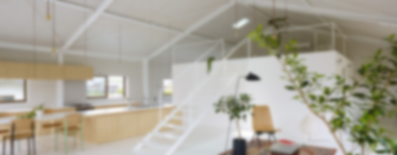 AIRHOUSE DESIGN OFFICE Minimalist living room