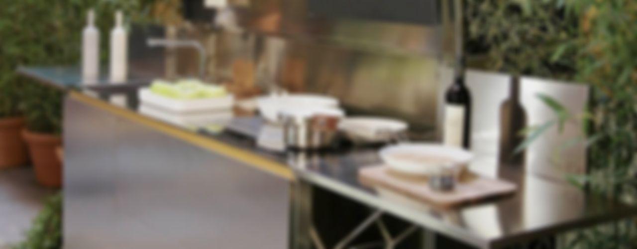 CUCINA OUTDOOR FINALMENTE SteellArt CucinaPiani di lavoro