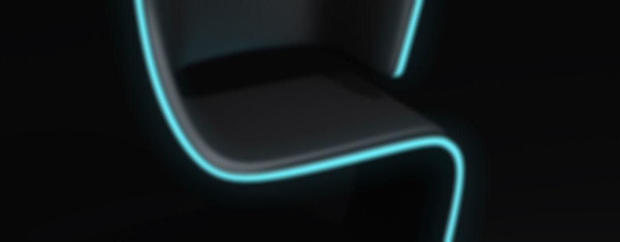 Lamed Chair design © Rodolphe Pauloin luxense design SalonChaises & poufs