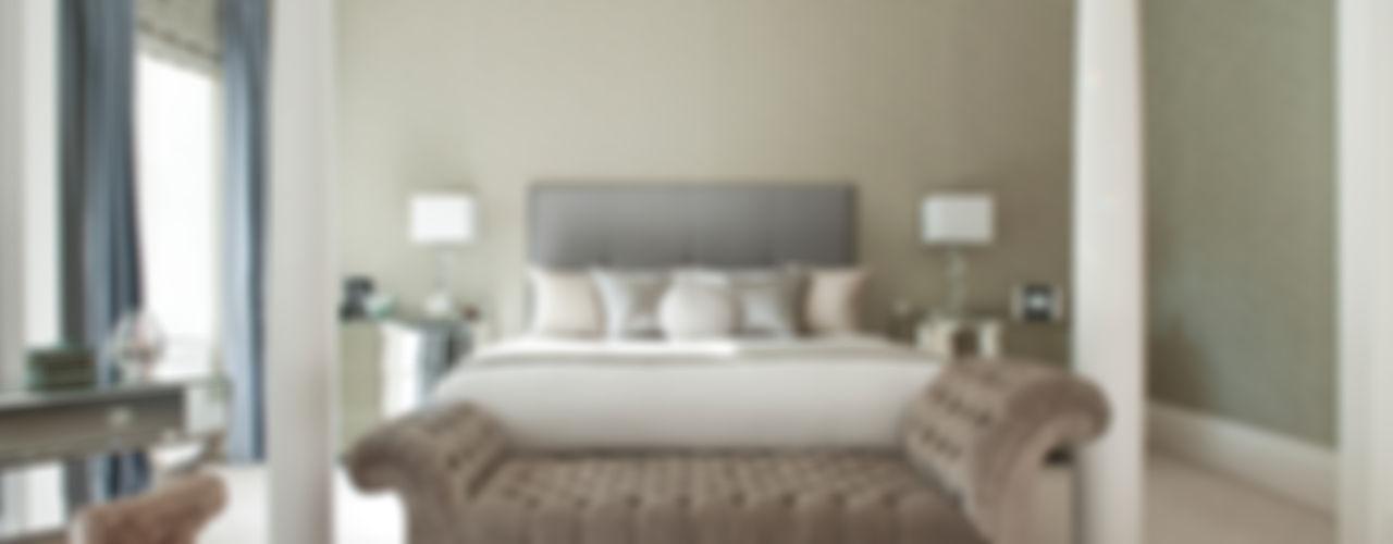 Eaton Square: Belgravia Roselind Wilson Design Modern style bedroom