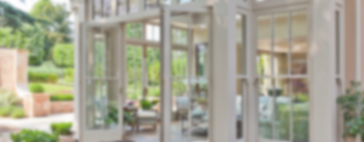 Orangery with Bi-fold Doors Vale Garden Houses Classic style conservatory