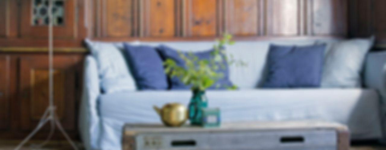 Side Board aus SBB Paletten - Rahmen x+x living WohnzimmerAufbewahrung