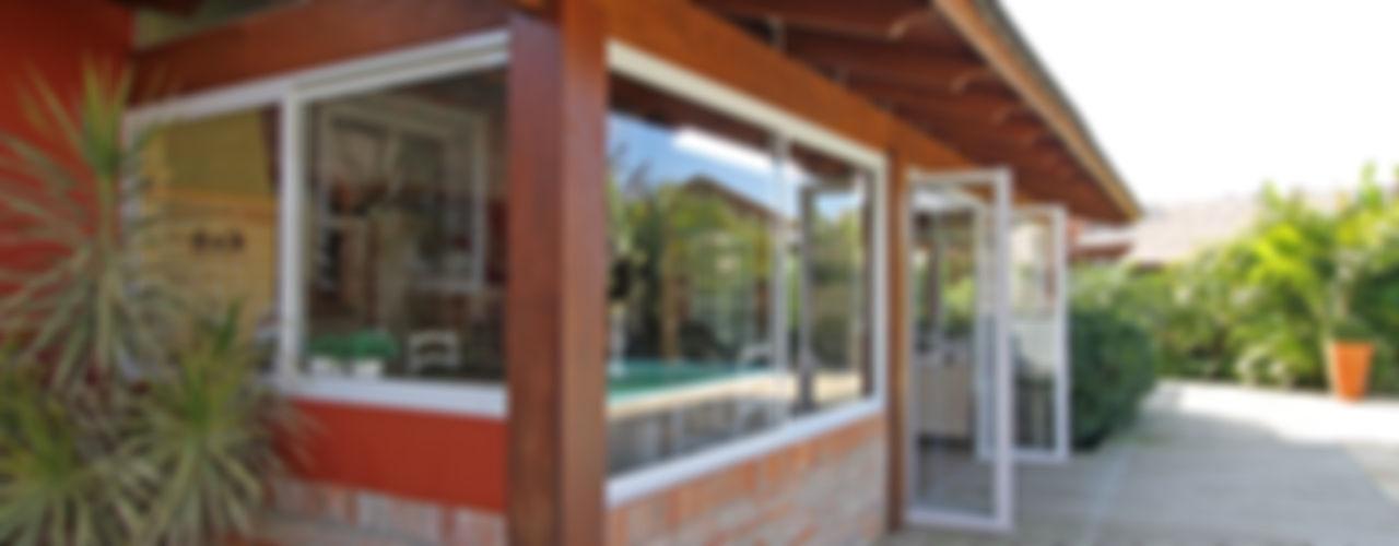 Graça Brenner Arquitetura e Interiores Casas rústicas