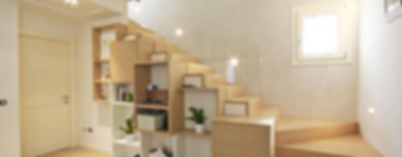 House in Marostica Diego Gnoato Architect SoggiornoSupporti TV & Pareti Attrezzate