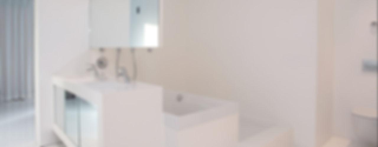 123DV Moderne Villa's Banheiros modernos