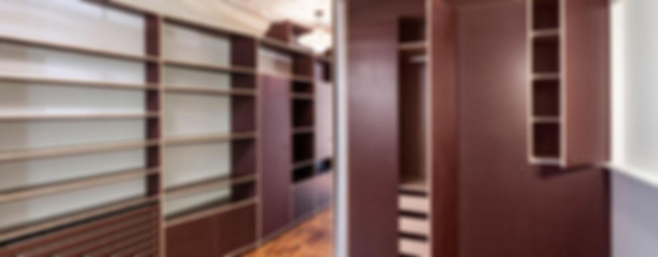 2P SUR MESURE // APPARTEMENT apie architectes Dressing