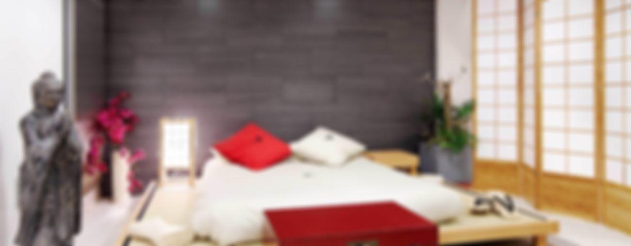 FANSTUDIO__Architecture & Design Asiatische Schlafzimmer