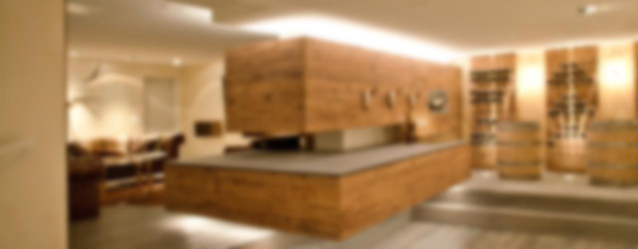 einfall7 GmbH Rustic style living room