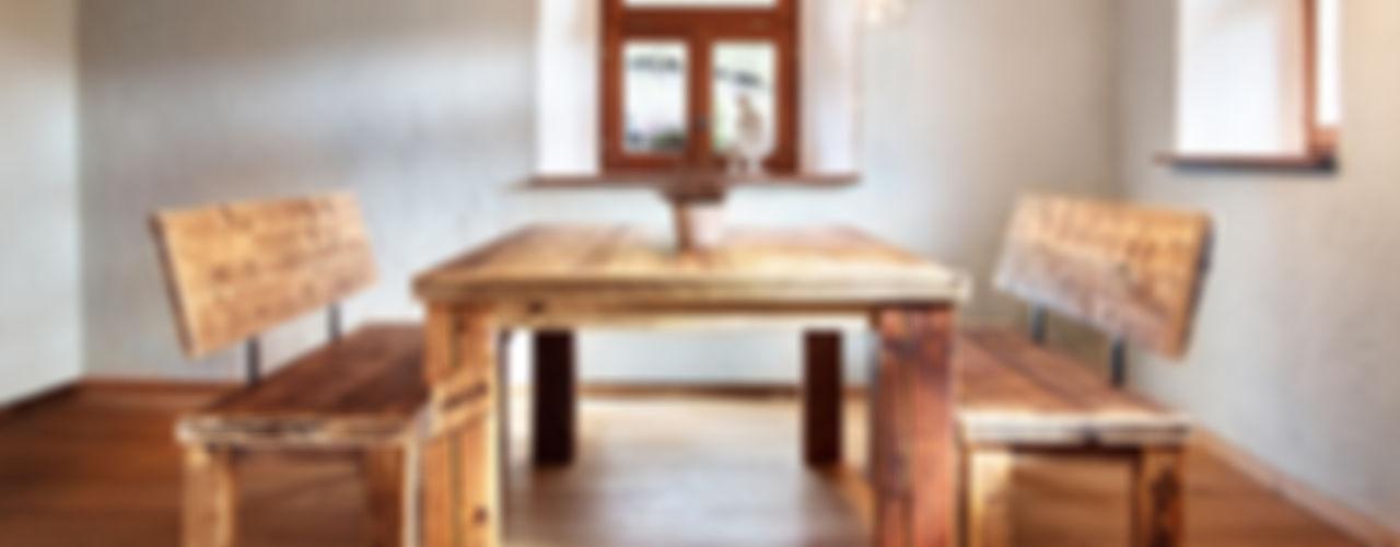 dining set edictum - UNIKAT MOBILIAR Rustic style dining room